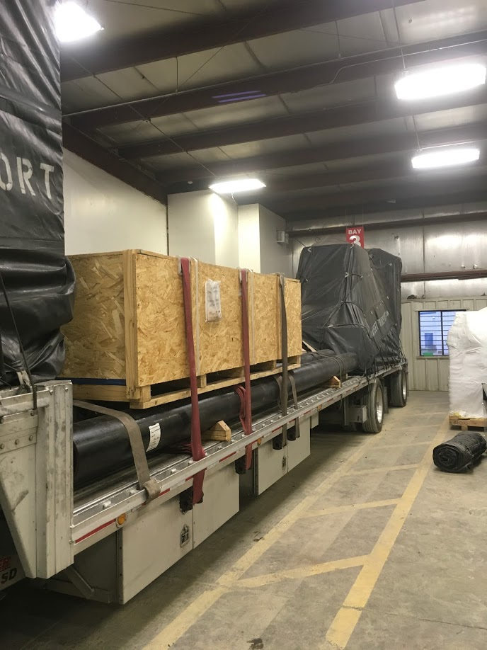 LTL flatbed shipment